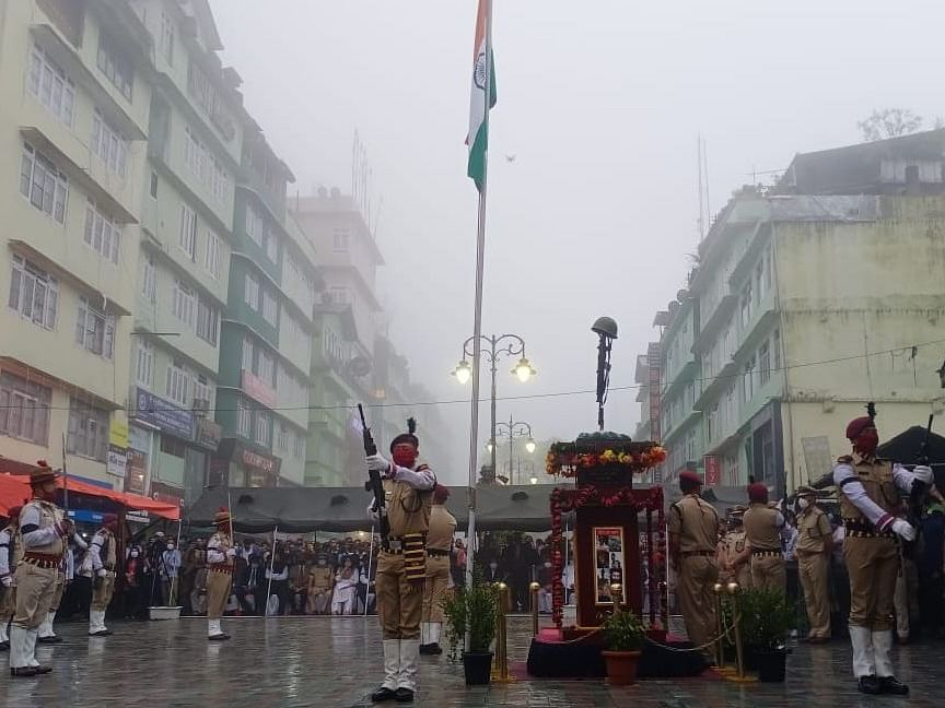 Sikkim pays tribute to martyred soldiers of Ladakh