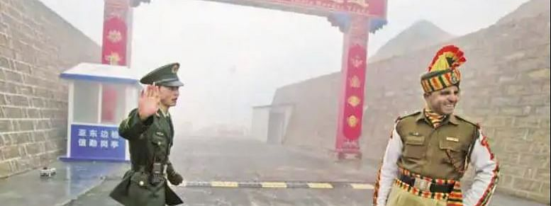 Under an arrangement signed by the both countries in 1996, neither sides are allowed to carry loaded weapons or explosives while patrolling the India-China border