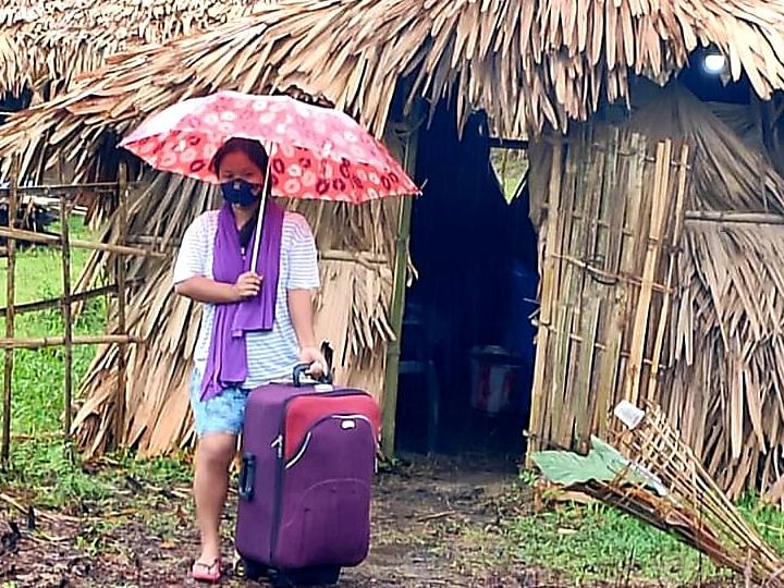 Woman completes 28-day home  quarantine at Debing
