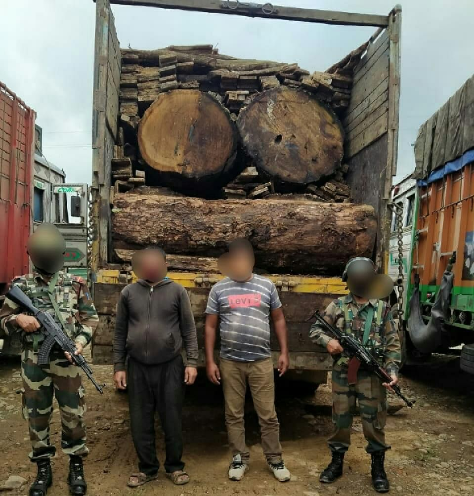 Huge quantity of smuggled contraband items recovered in Manipur