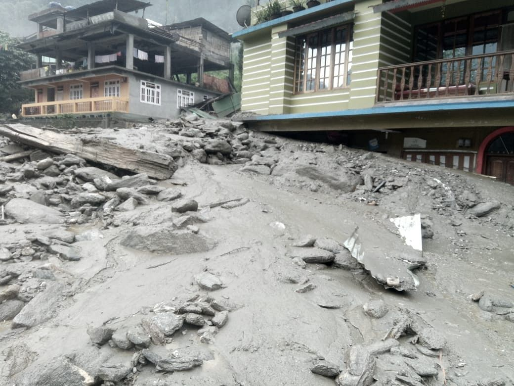 Assam Landslide Claims Life Of 21-Year-Old Girl In Guwahati-9079