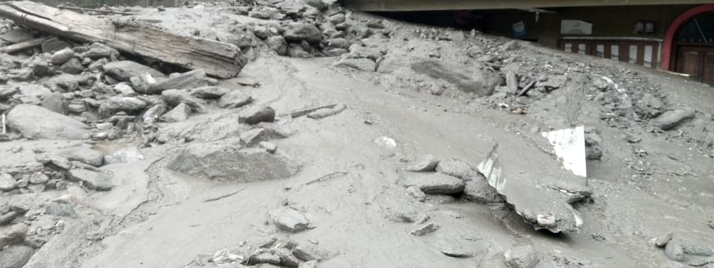 IN PHOTOS: Rains trigger flash floods in Passingdang, North Sikkim