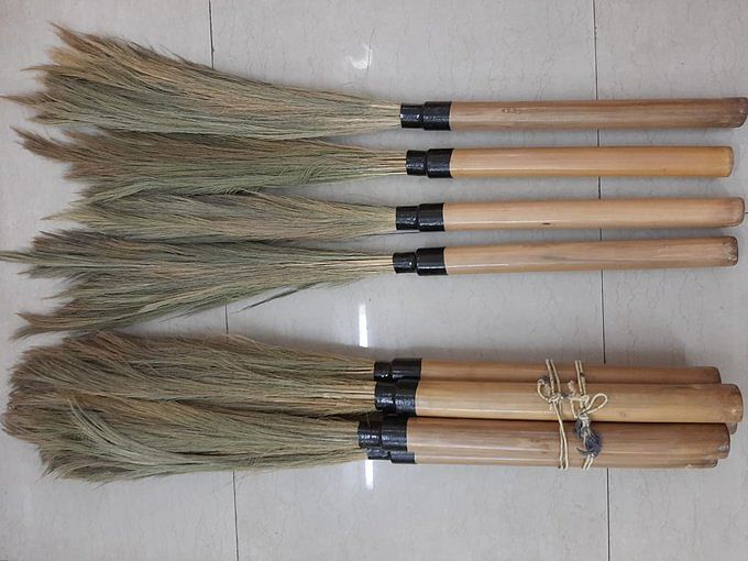 These eco-friendly broomsticks are perfect substitute for plastic