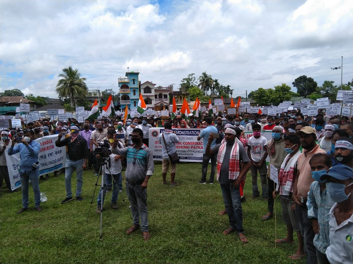Protectors demand opening of Tirap and Tikok collieries