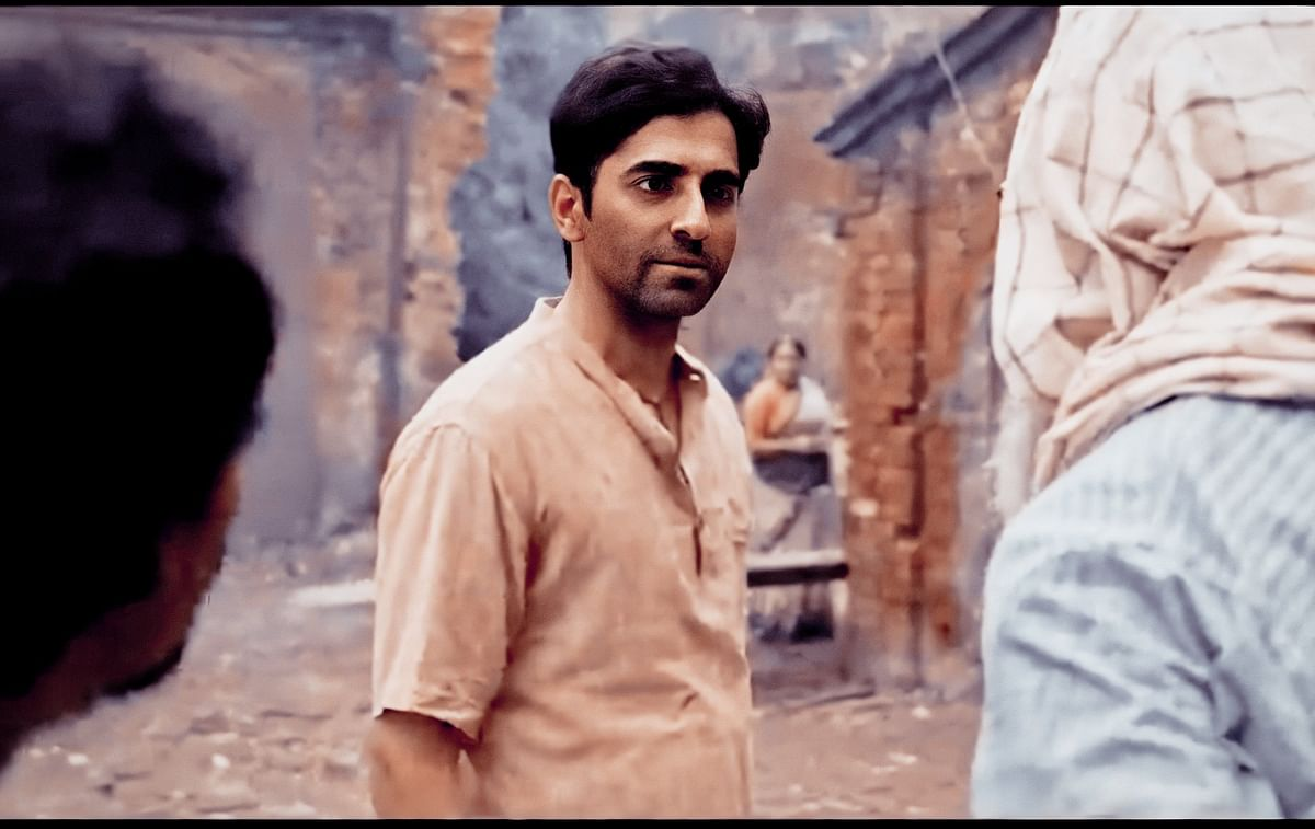 Khurrana portrays the character of Baankey as one of the protagonists