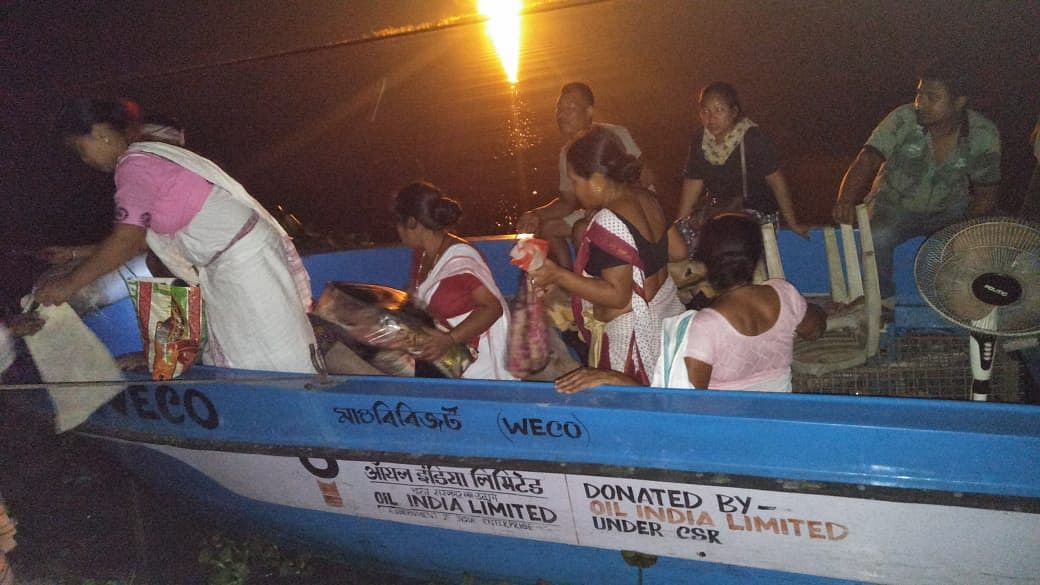 Affected people being shifted to safer locations