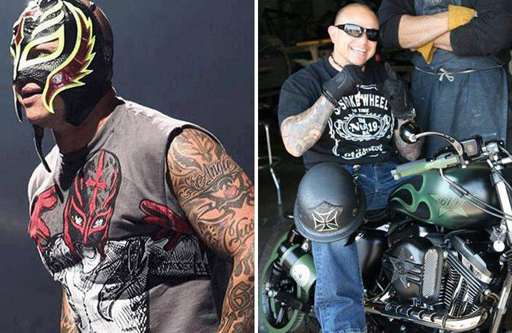 WWE superstar Rey Mysterio Jr.