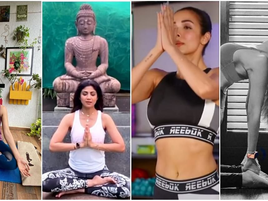 Bollywood celebs add glamour quotient on International Day of Yoga