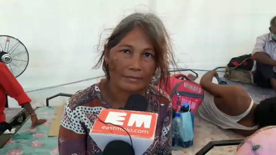 Rashmi Sonowal, an orphaned-specially abled woman, who has been living in Goa for the past 11 years