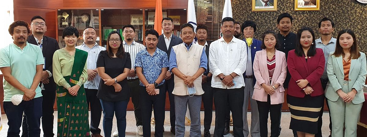 The 20 youths on Tuesday were felicitated by legislative assembly speaker Pasang D Sona and deputy speaker Tesam Pongte
