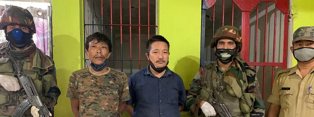 The militants have been identified as self-styled lt col Rampong Hakhun alias Johny, who has been wanted by security forces since 2011, and Kochung Sangkey
