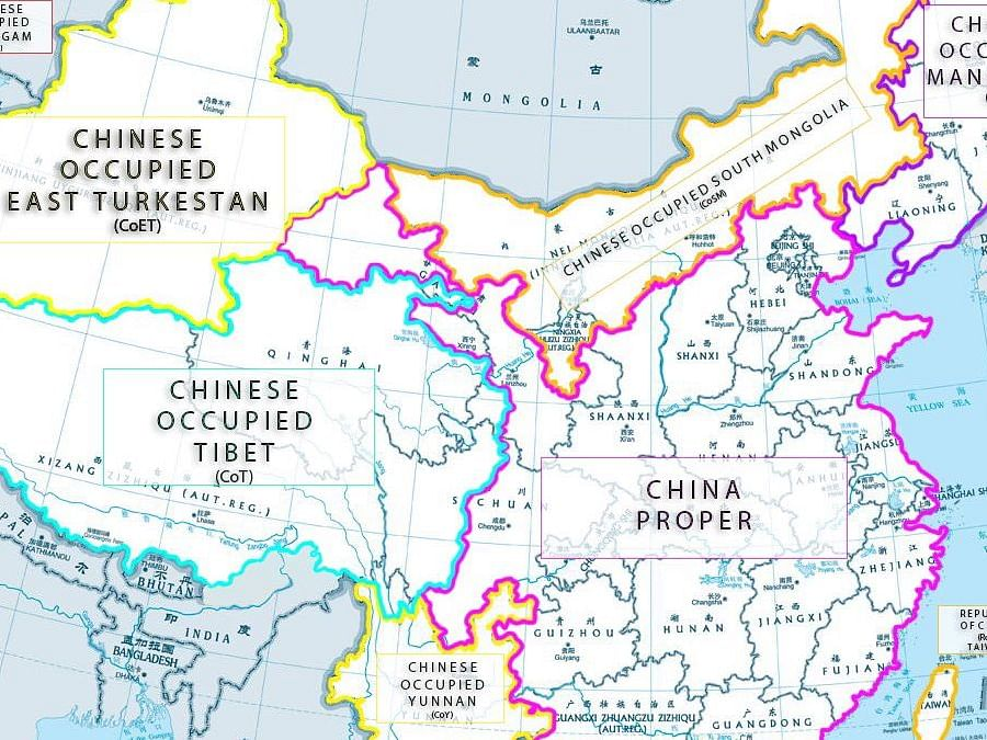 #RealMapOfChina: Twitterati irked by China's expansionist mission
