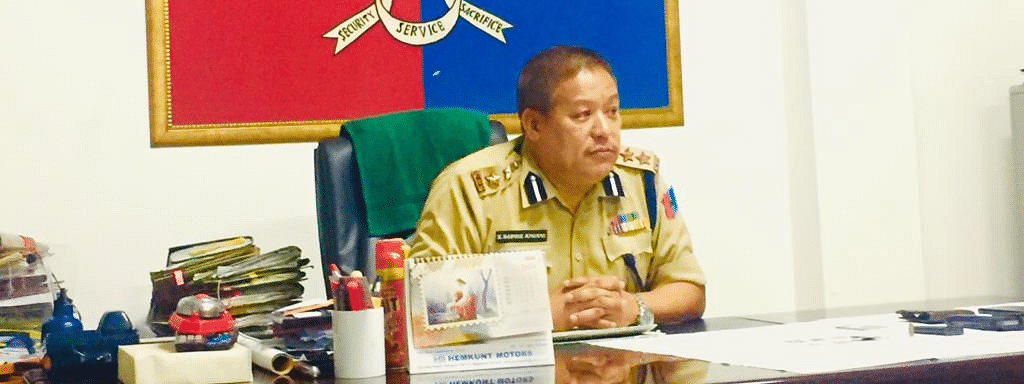 Sr Superintendent of Police Kevithutho Sophie addressing the media on Tuesday evening