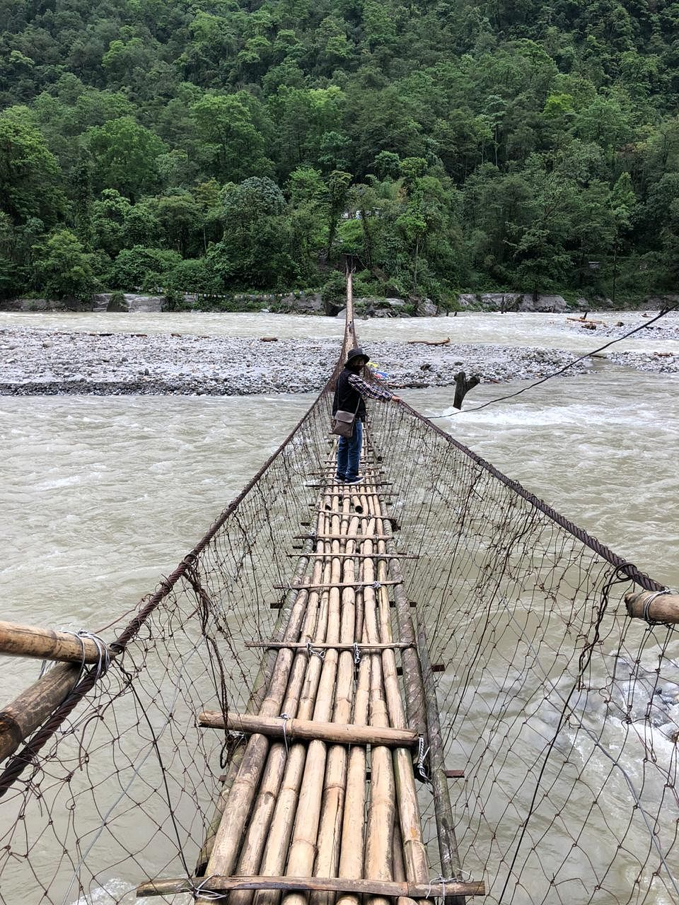 In its fresh directives, the High Court of Sikkim on June 20 directed the State government to 'regularly monitor the condition of the temporary bamboo cane bridge'