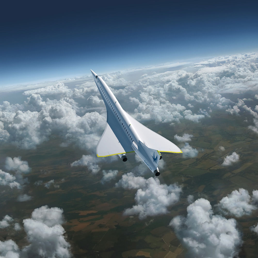 The XB-1 is capable of achieving a top speed of Mach 2.2