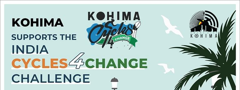 Kohima Smart City launched the Cycle4Change campaign