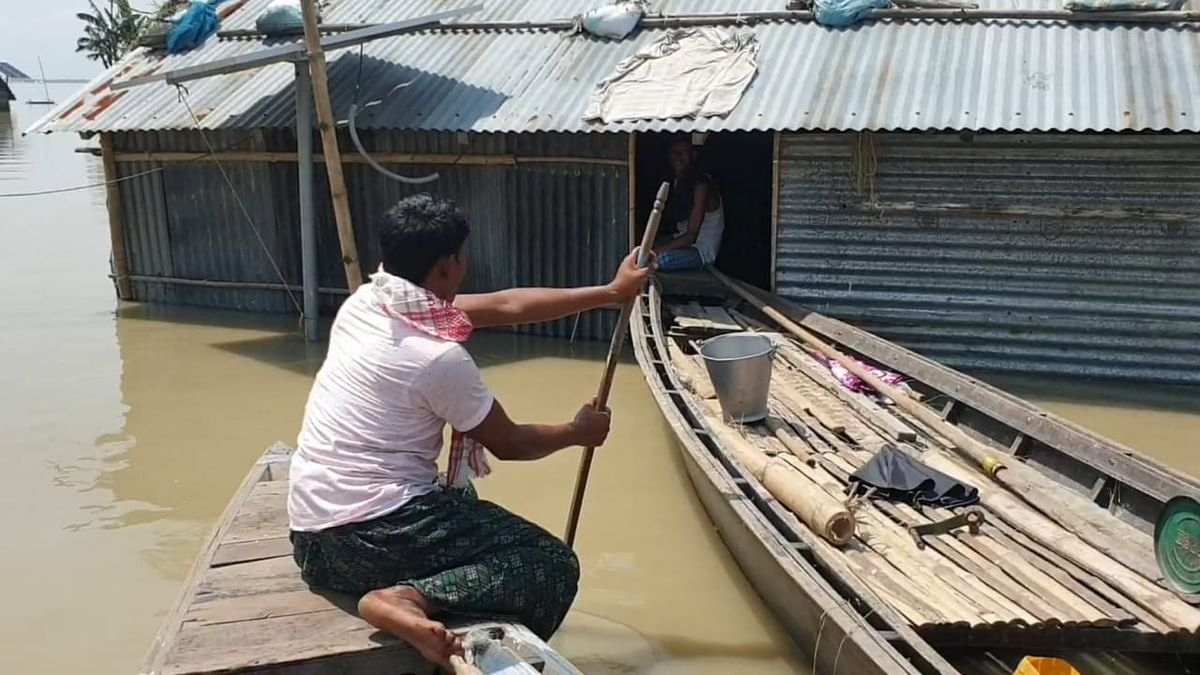 Altogether 22 districts of state have been affected in flood so far