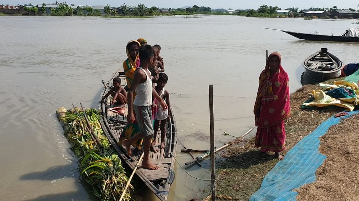 Floodwaters affected 8,59,950 people in Barpeta district