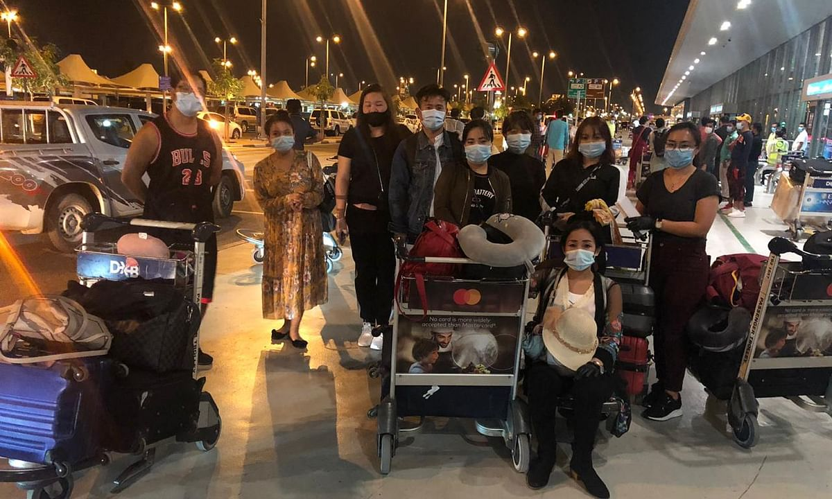 189 NE people stranded in UAE countries arrived in Guwahati on Friday