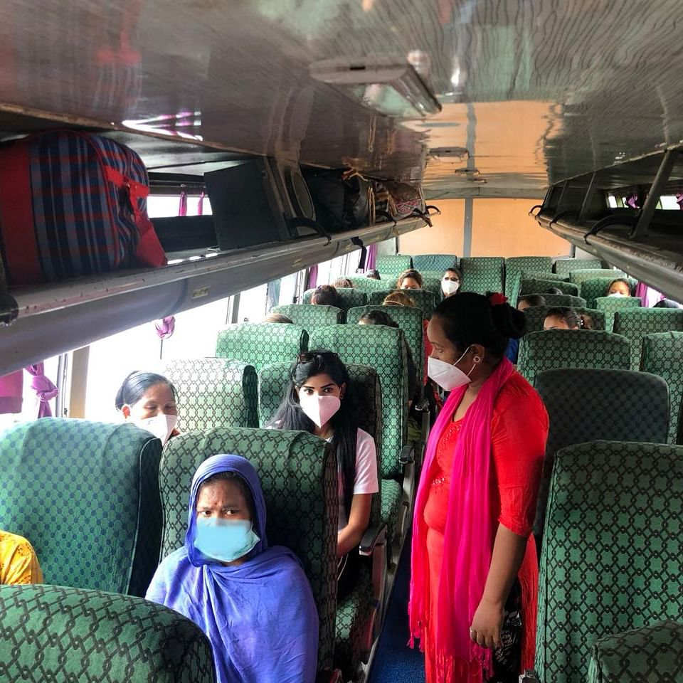 Manipur repatriates suspected women victims of human trafficking to Nepal