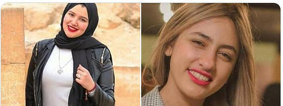 Haneen Hossam 20-year-old, and Mawada Eladhm 22-year-old