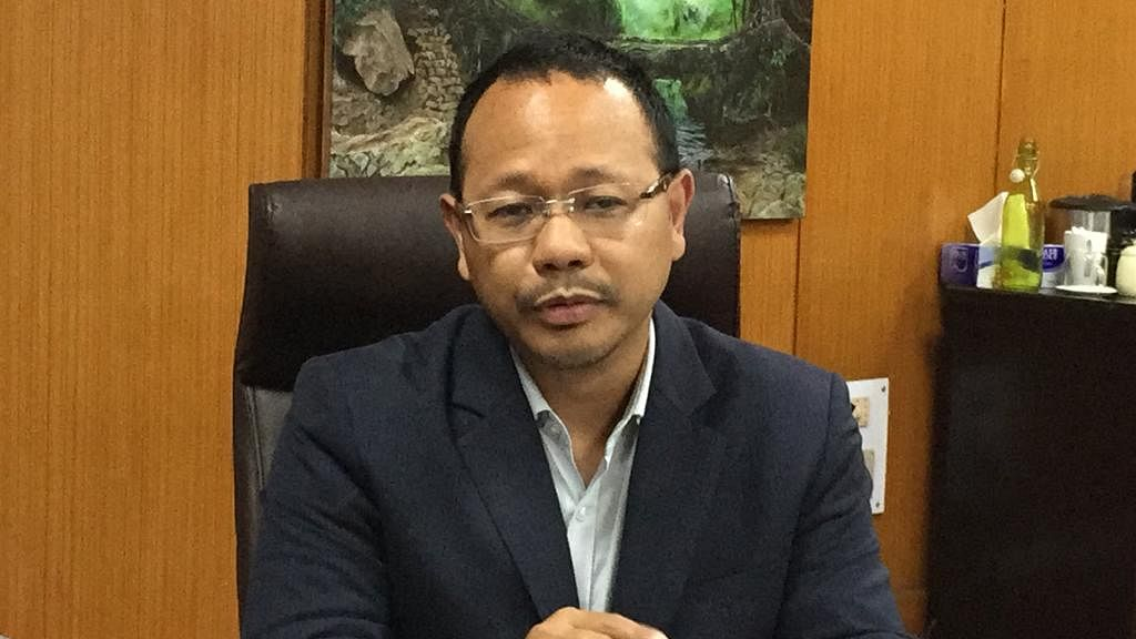 Meghalaya minister James Sangma clarifies on driver's COVID-19 status