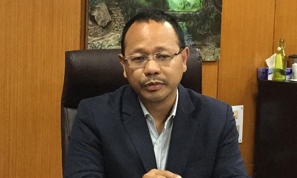 Minister of power James Sangma tests positive for COVID-19
