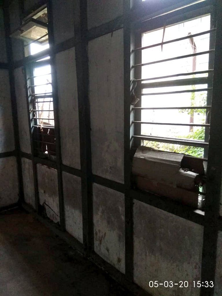 The initial condition of the hall