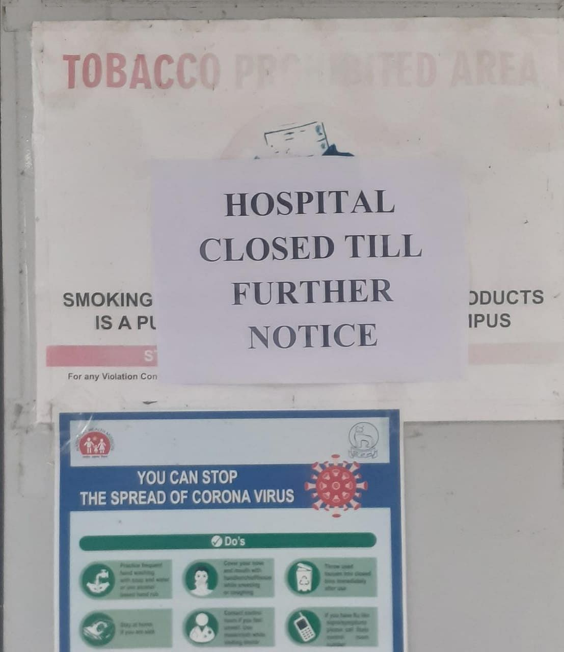 Senapati district hospital closed from Saturday until further notice