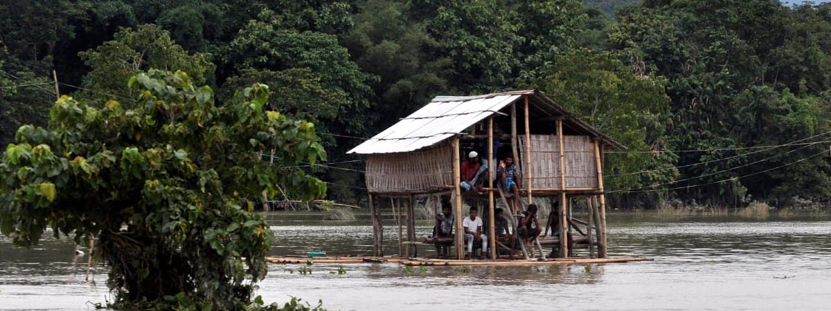 Goalpara district has been the worst hit with almost 4.70 lakh people impacted by floods