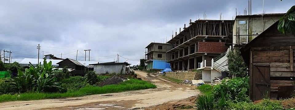 Dungrei area in Hungpung village under containment zone
