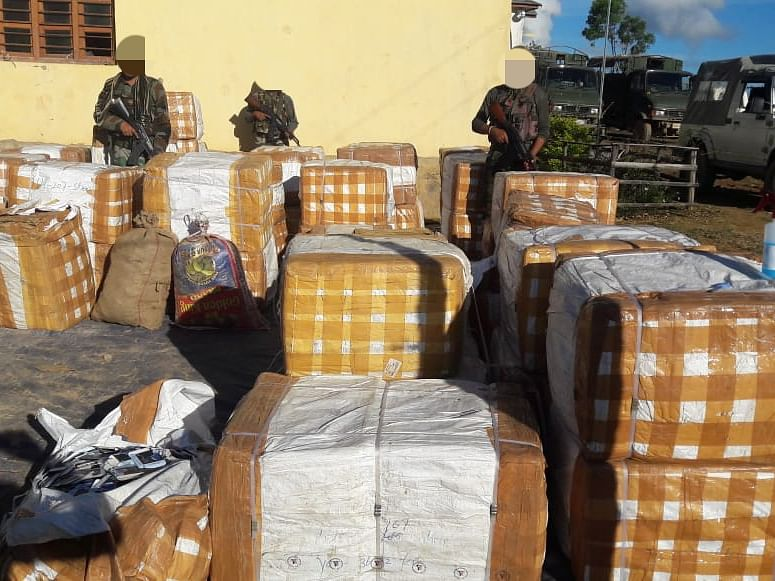 Manipur: Medicines worth Rs 12 lakh seized by Assam Rifles in Kamjong