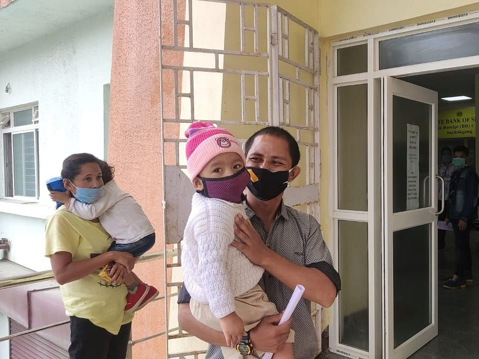 2-yr-old girl, Sikkim's youngest COVID-19 patient, discharged; father shares account