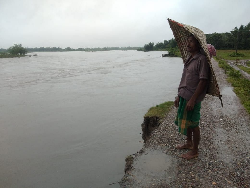 A number of incidents of flood-triggered erosion have also been reported from Nalbari, Baksa, Biswanath, Udalguri and South Salmara districts