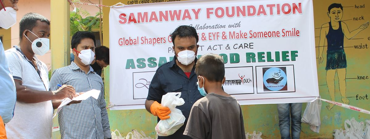 The foundation aims on providing 2,000 such relief kits in the coming weeks