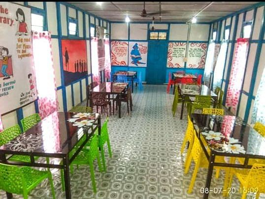Arunachal youths convert shabby building into pleasant reading hall