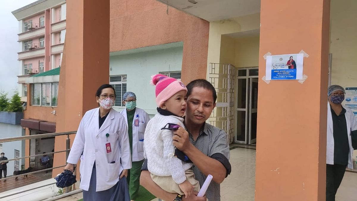 The father of the girl extended gratitude to all those who came in aid of the baby as her 'second mother' in the isolation ward, along with the doctors and nurses
