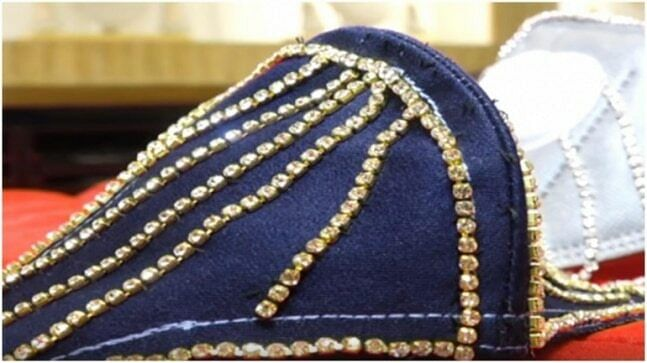 The mask which uses yellow gold along with American diamond costs Rs 1.5 lakh and the other with white gold and real diamond costs Rs 4 lakh