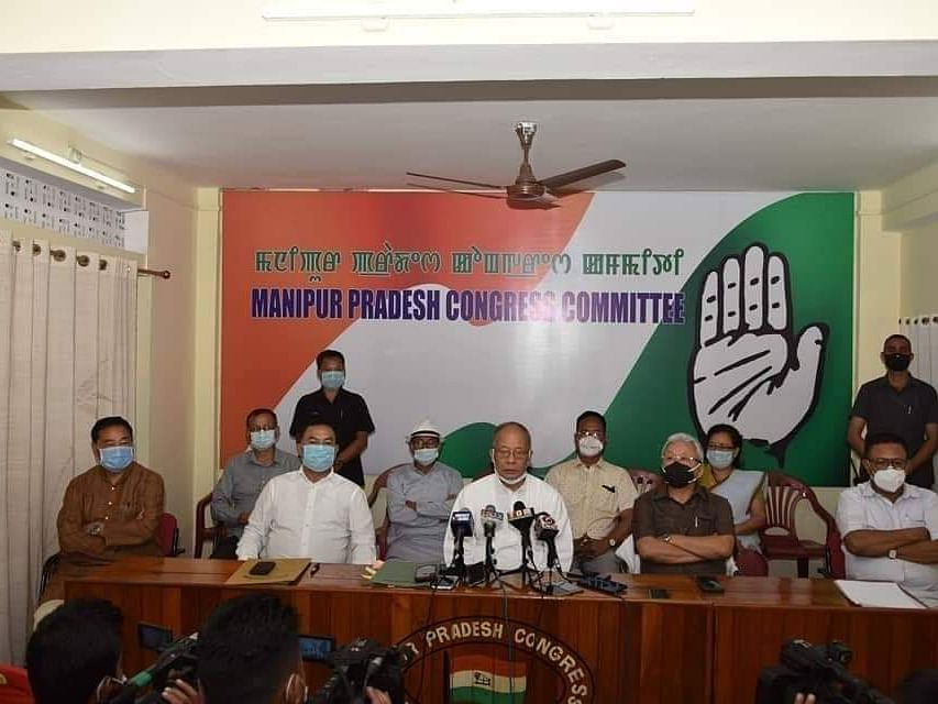Manipur: 6 Cong MLAs, including ex-CM Ibobi's nephew, resign from party