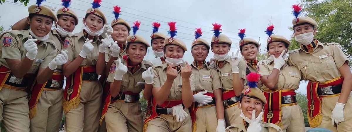 175 women from NE were inducted as constables in Delhi Police on Tuesday