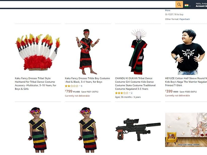 E-commerce sites selling 'racist' Naga costumes is cultural appropriation
