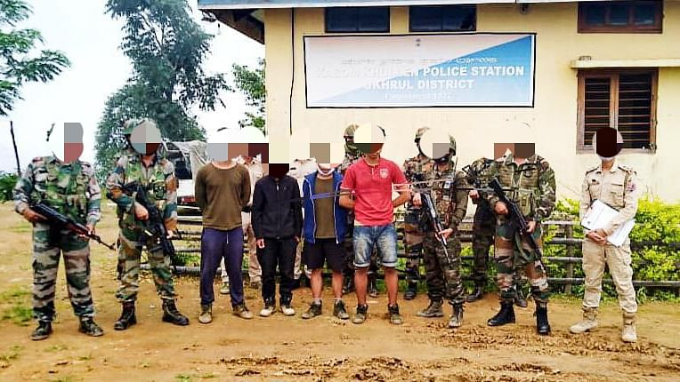 Manipur: 4 rebels of 2 militant outfits held; drugs worth Rs 36 lakh seized in another op
