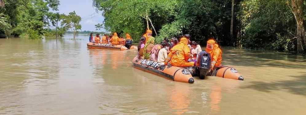 Flood situation is likely to deteriorate with heavy rainfall in in various parts of Assam