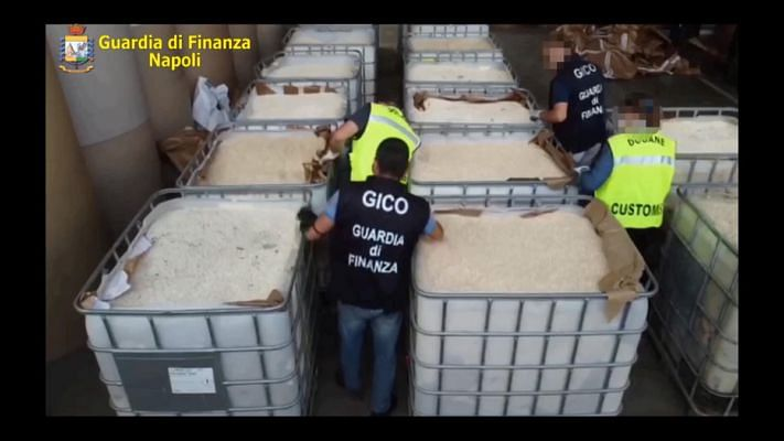 Italian Police seizes biggest-ever drug consignment in world