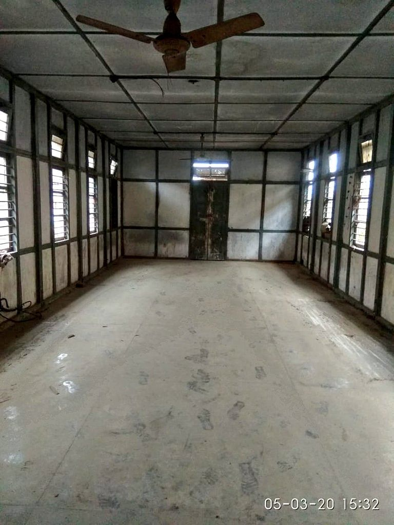 Initial condition of the hall