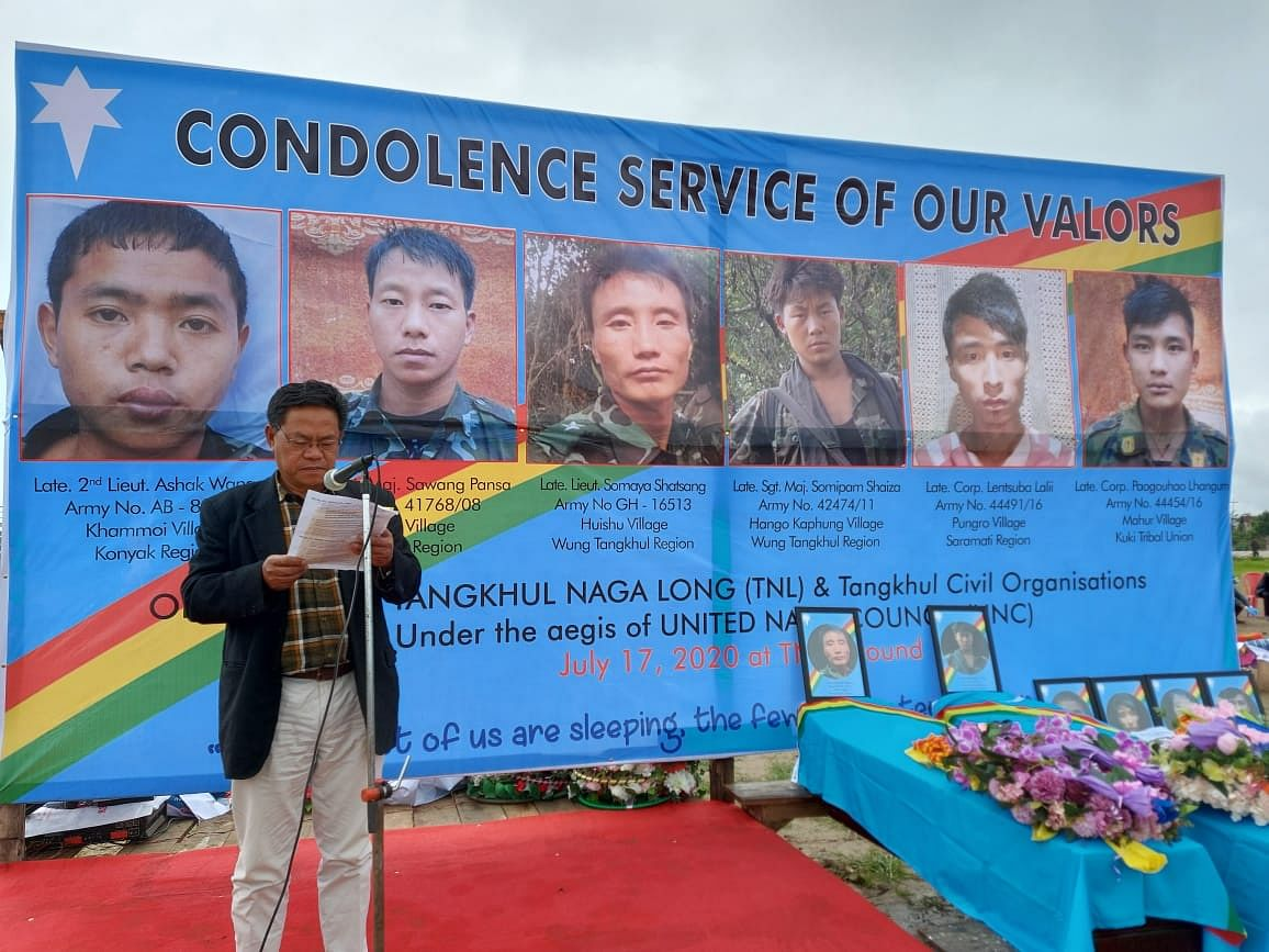 Nagas in Manipur pay tribute to 6 slain NSCN-IM cadres