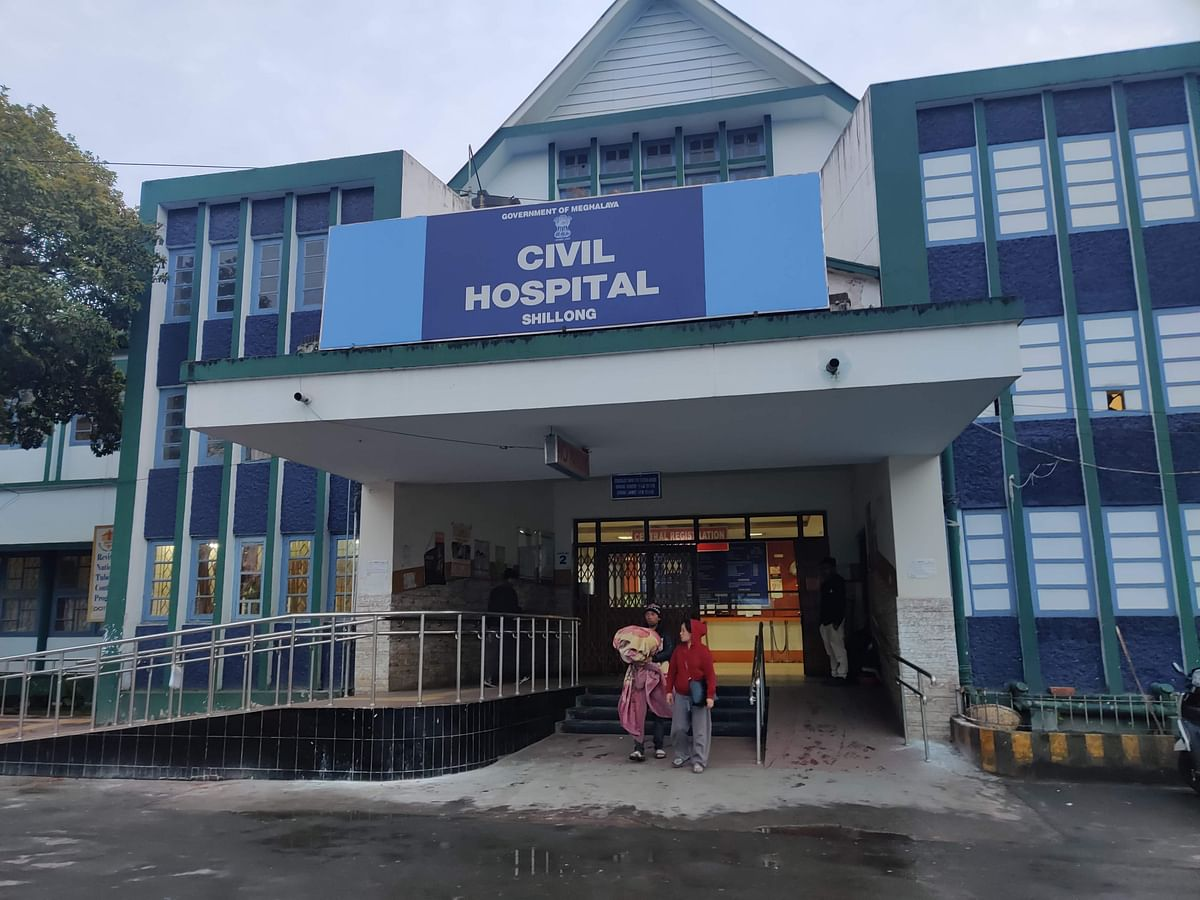 Shillong Civil Hospital OPD closed after doctor tests COVID-19 positive