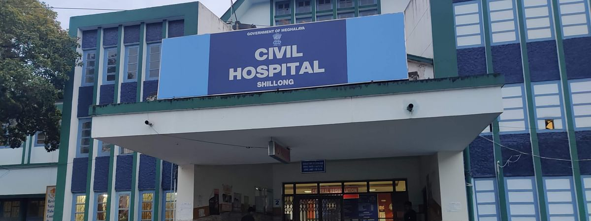 The OPD at Shillong Civil Hospital was closed on Friday