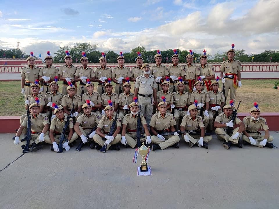 530 youths from Northeast India inducted to Delhi Police as constable on Tuesday