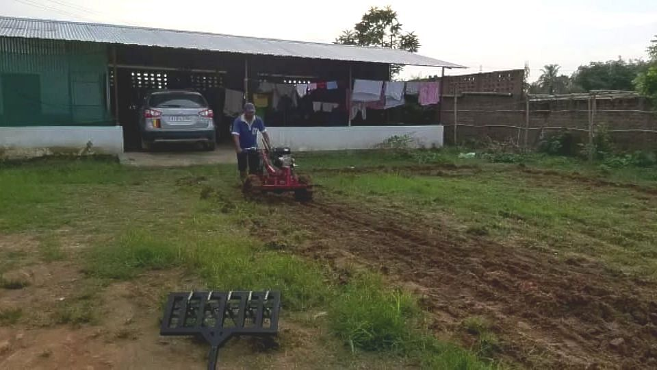 The tractor is available with two detachable ploughs which can be availed for a price of 40k